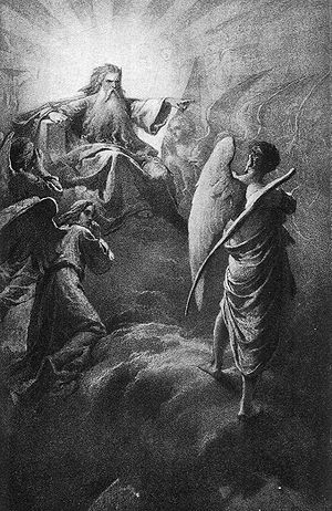 Luciffer versus The Lord (Madach)