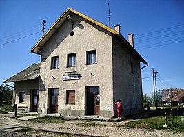 Bahnhof Zichyújfalu
