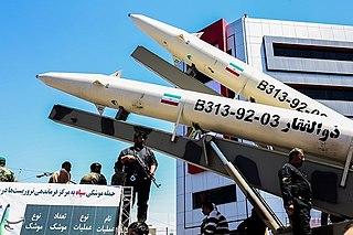 """Zolfaghar (missile) SRBM""""`UNIQ--ref-00000000-QINU`"""""""