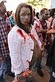 Zombie Fest 2009- Pregnant zombie (4003421204).jpg