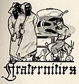 """""""Fraternities"""" from Trinity ivy yearbook 1911 (page 84 crop).jpg"""