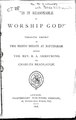 """Is it reasonable to worship God?"".pdf"