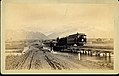 """Just over the River Jordan"". Salt Lake Valley, Utah. Denver and Rio Grande Western Railroad, Wasatch Mountains.jpg"