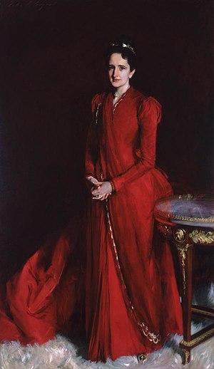 Margaret Louisa Vanderbilt Shepard - Margaret Louisa Vanderbilt (Mrs. Elliot Fitch Shepard) by John Singer Sargent in 1888