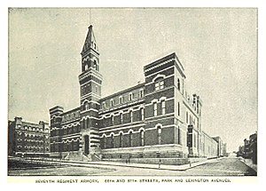Seventh Regiment Armory - Ca 1890