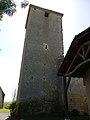 Église Saint-André de Lahitte - Clocher nord.jpg