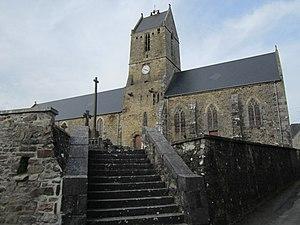 Église Saint-Denis de Saint-Denis-le-Vêtu.