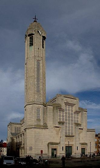 Sint-Jans-Molenbeek - Church of St. John the Baptist