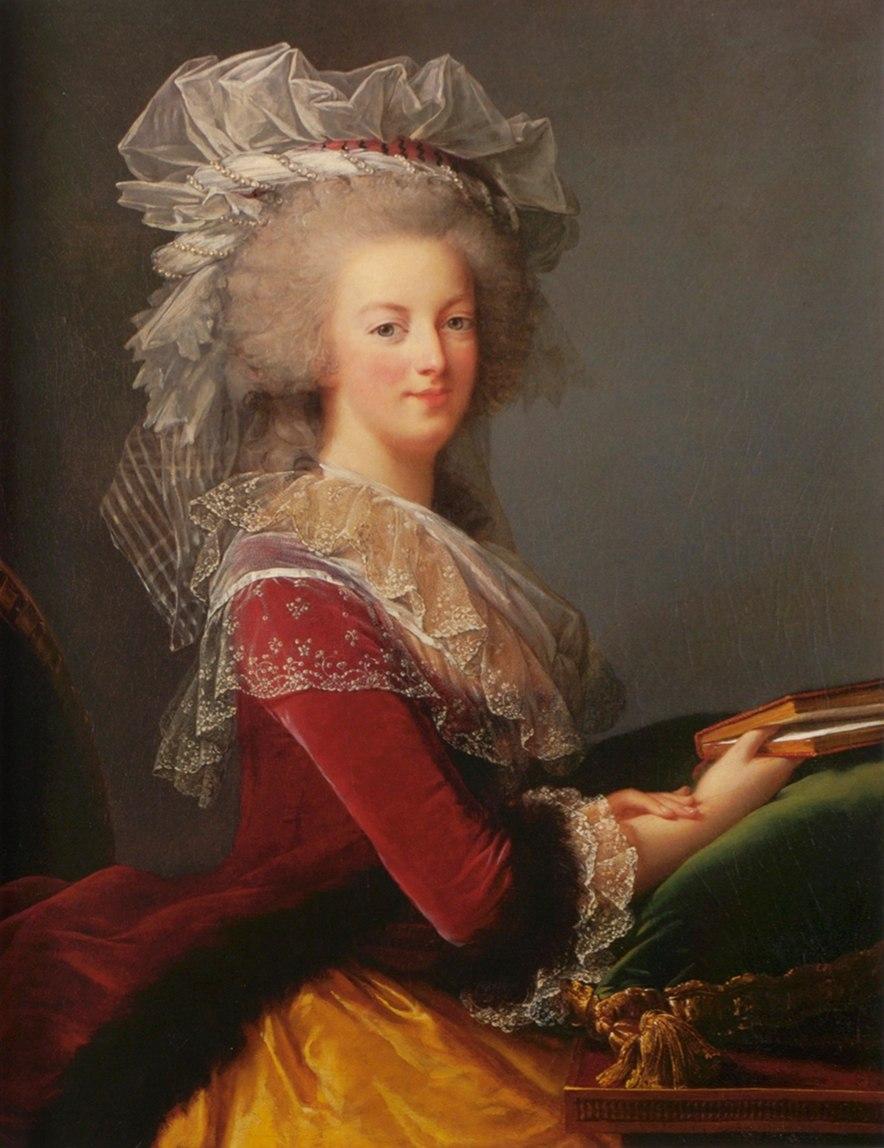 %C3%89lisabeth Vig%C3%A9e Le Brun - Marie-Antoinette au livre - 1785