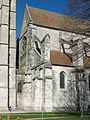 Étampes (91), collégiale Saint-Martin, intersection entre clocher et nef.jpg