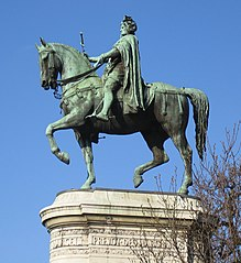 equestrian statue of Étienne Marcel
