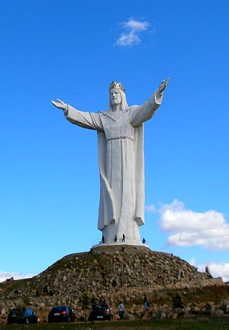 Christ the King - Statue of Jesus Christ in Świebodzin, Poland