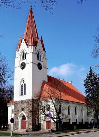 Šilutė - Lutheran church in Šilutė
