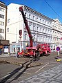 Štefánikova 19, rekonstrukce TT, u náměstí 14. října, autojeřáb.jpg