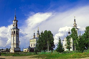 Luzsky District - A church complex in Lalsk, Luzsky District