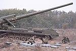 """Бойові стрільби артилерійських підрозділів на полігоні """"Дівички"""" (30598644571).jpg"""