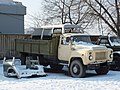 ГАЗ-53 и распил японского автомобиля в кузове.jpg