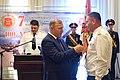 Глава РА Кумпилов вручил медаль СЛАВА АДЫГЕИ Егорову И. А. Сухум 2018.jpg