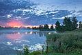 Летний рассвет на озере.jpg