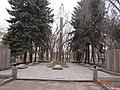 Меморіал у Центральному парку. Апостолове.JPG