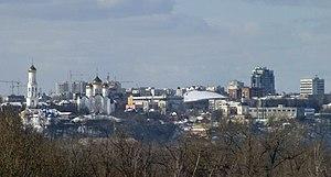 Bryansk - View of the historical center of Bryansk