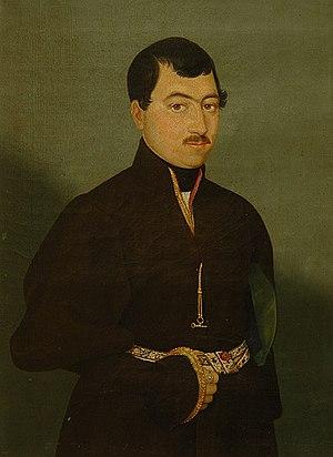 Hovnatanian - Image: Портрет Караджана. 1830 1840 е гг. Акоп Овнатанян
