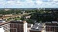 """Рига (Латвия) Офисный центр """"Европа"""" - вид на Кишозеро - panoramio.jpg"""
