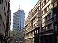 Свјетлопис зграде Политике, право, и десно, Радио Биограда.jpg