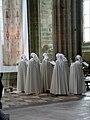 Служба в аббатстве Сен-Мишель, Мон-сен-Мишель, Нормандия, Франция - 200905.jpg