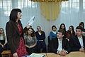 Спілкування з юними читачами в літературній світлиці Заліщицької державної гімназії ім. братів Гнатюків.JPG