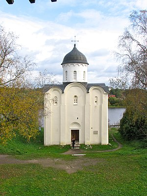 St. George's Church, Staraya Ladoga - View from the wall of the fortress