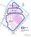 望京地区1994年规划功能分区图,来广营属于泛望京地区,望京工业区属于现东湖街道且已经调整为望京科技园,望京新城基本构成了望京街道.jpg