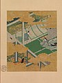 "源氏物語図色紙 「藤袴」-Scene from ""Purple Trousers"" (""Fujibakama""), from The Tale of Genji (Genji monogatari) MET DP700729.jpg"