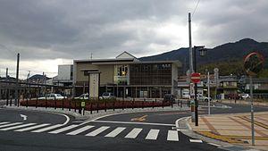 Chōfu Station (Yamaguchi) - Chōfu Station in January 2013