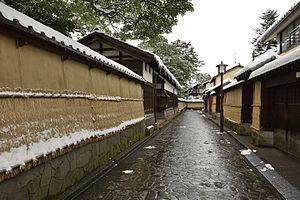 Kanazawa - Nagamachi area in 2014