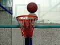 陕师大附中分校的篮球场和篮筐 09.jpg
