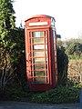 -2019-12-30 Red telephone box, Abbey Street, Bacton.JPG
