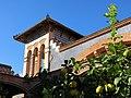 005 Museu de Tortosa, antic escorxador, torre i llimoner.JPG