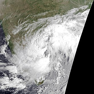1980 North Indian Ocean cyclone season - Image: 02B Oct 17 1980 0243Z