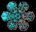 04 snowflake colorized early experimental digital photography by Rick Doble.png