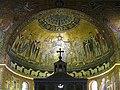0 'La Vergine e Cristo assisi' - Basilica S. Maria in Trastevere 1.JPG