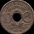 10 centimes Lindauer revers.png