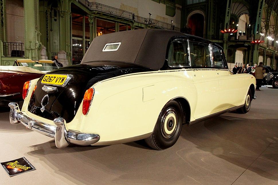 110 ans de l%27automobile au Grand Palais - Rolls-Royce Phantom VI Landaulette - 1992 - 007