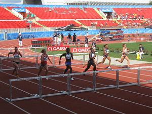 2009 European Athletics Junior Championships - 100m hurdles race (w)