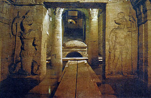 Catacombs of Kom El Shoqafa - Image: 113KOM EL SHOQAFA CATACOMBS