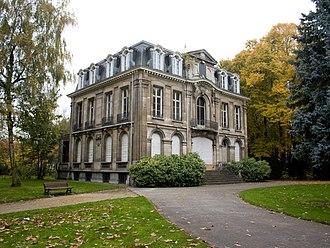 Hoboken, Antwerp - The Meerlenhof, built in 16th century.