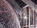 130508 Dachoboden Aufhängung, Ersatzziegel 05.JPG