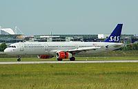 LN-RKK - A321 - SAS