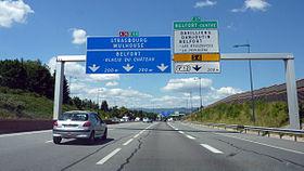A39 autoroute #