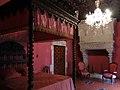 149 Castell de Santa Florentina (Canet de Mar), dormitori del rei.JPG